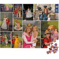 personalised photo collage jigsaw