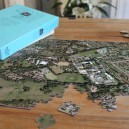 Personalised jigsaw of an aerial photograph centred on your location