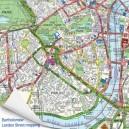 Luxury wooden map jigsaw puzzle - Landranger