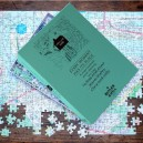 London Street Level personalised map jigsaw puzzle - 400 pieces