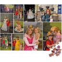 500 piece mosaic collage style personalised jigsaw puzzle from 20 pictures