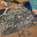 Personalised aerial map photo jigsaw - Greatest Dad